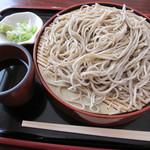渋谷食堂 - 「もりそば ¥600」