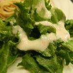 欧風屋 - パスタセットのサラダ