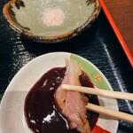 花葵 - このソースは美味しいですね。