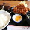 麦 - 料理写真:トンカツセットです☆ 2021-0901訪問