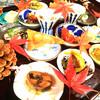 手打ち蕎麦切り 天空 - 料理写真:秋の前菜盛り合わせ