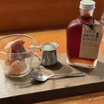 ザ カフェ - オーダーは水出しコーヒー(748円)