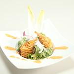 アピアン - 海老のジャガイモ巻揚げ