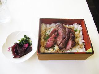 神南軒 - ビフテキ1400円