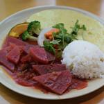 シンシアガーデンカフェ - アーユルヴィーダカレープレート 1720円