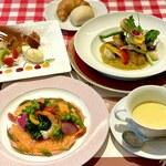 レストラン ニックス - ランチコース 魚