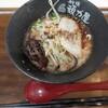 頑力屋 - 料理写真:黒マー油とんこつラーメン、ハーフ