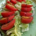 おにぎりと野菜のレストラン 千華 - サラダ