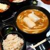 うどん料理 千 - 料理写真:温カレーうどんセット(炊き込みご飯)税込880円