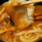 うどん料理 千 - 温カレーうどんセット(炊き込みご飯)税込880円