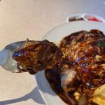 津々井 - 豚肉とデミグラスソース、合います。