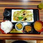 王寿庵 - 料理写真:野菜炒め定食630