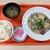 西宮市役所 - 料理写真:ランチB:牛肉柳川煮520円