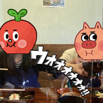 157559621 - はいじゃんじゃん〜!はいどんどん〜! もっとくれ〜!!(試合前半)