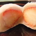 御菓子司 鶴屋 - いちご大福