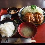 伊奈八 - ヒレかつカレー定食