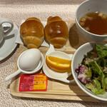 すなば珈琲 - 朝顔モーニング 550円。