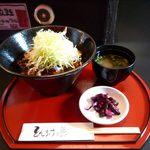 15757340 - 豚丼(ハーブ豚バラ、750円)