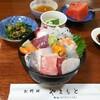 お料理やまもと - 料理写真:海鮮丼。これ以外に味噌汁が付きます。