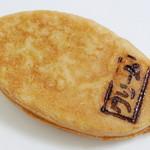 15758052 - お茶の葉やき<抹茶カスタードクリーム>(\150、2012年10月)