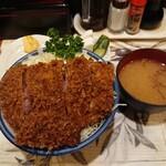 157580422 - かつ丼ソース味(ロース)
