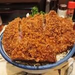 157580424 - かつ丼ソース味(ロース)