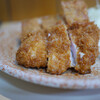 とりかつ チキン - 料理写真:人気定食 とりかつ・ハムカツ・コロッケ 700円