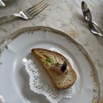 フランス食堂 シェ・モア - 料理写真:オードブル。サクサクしてて美味しかった。白ワイン飲みたかったけど、運転してくれる人に流石に遠慮。