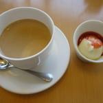 UCCガーデニア - カフェ・オ・レとデザートのアイス