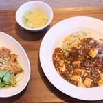 中華家 しかけん - 料理写真:マーボー炒飯セット