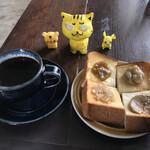 慈雨 - 料理写真:エチオピア+トーストセット750円(税込)