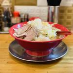 手打ち極太麺 ジョニーの味噌 - 料理写真:
