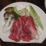 棧温泉旅館 - 豆乳鍋の具材