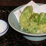 棧温泉旅館 - 山菜てんぷら