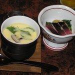 棧温泉旅館 - 茶碗蒸し