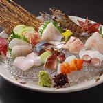 桃兵衛 - 料理写真:本日のお造り盛り合わせ 1,940円〜 (※写真は二人前となります。)