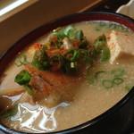 オーガニックハウス - ごま風味豚汁230円