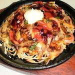のと路 - 野菜たまごスパゲッティ