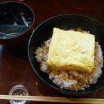 菱や - う巻丼(お吸い物付)