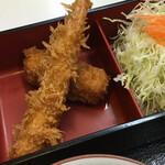 キッチンアオキ - エビフライ&カニポテトコロッケ