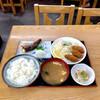 ぼんち食堂 - 料理写真:魚とカキフライ定食 ¥1000