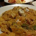 AIAI - 海老のクリーム味スパゲティー