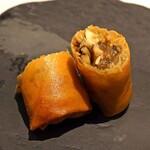 MASA'S KITCHEN47 - 松茸の揚げ春巻き