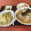 マロニエ - 料理写真:半炒飯+ラーメンセット 970円