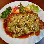 レストラン・デキムラ - 料理写真:チキンディアブル(ピクルスマスタード焼き)