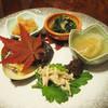 Moritaya - 料理写真:前菜5種