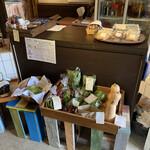 KIRI CAFE - 野菜も売ってました