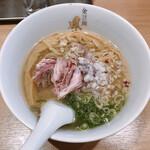 らぁ麺 鳳仙花 - 金目鯛らぁ麺