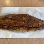 157645279 - 明太子フランスです、形が鯖の塩焼きみたいww