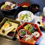 澤乃井ままごと屋 - 楓コース   5,400円(税込) お料理の内容は季節により異なります。